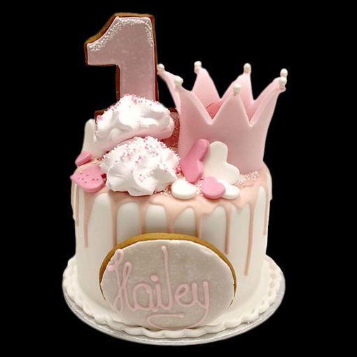 Afbeelding van Little crown taart